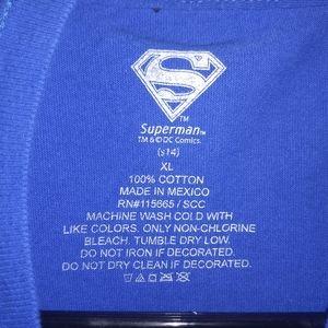 DC Comics Shirts - SUPERMAN T-SHIRT 👕 Comic Book Superhero Tee Shirt